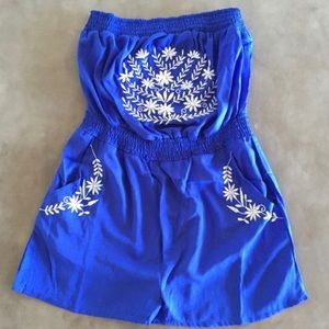 Other - Adorable strapless romper